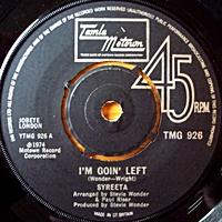 I'M Goin' Left/ Heavy Day (tamla 7s)