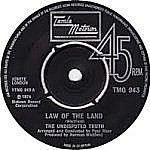 Law Of The Land/ Lil Red Riding Hood (tamla 7s)