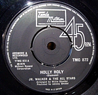 Holly Holy/ Peace And Understanding (tamla 7s)