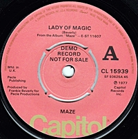 Lady Of Magic/ Time Is On My Side