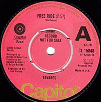 Free Ride/ In The Eyes Of Love