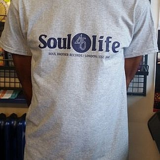 Soul 45 Life T-Shirt Grey - L
