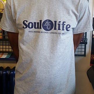 Soul 45 Life T-Shirt Grey - Xl
