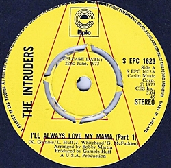 I'Ll Always Love My Mama (Part 1)/ (Part 2)
