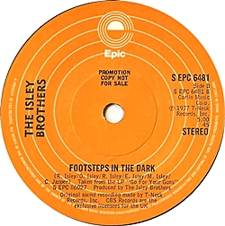 Groove With You/ Footsteps In The Dark (Long Version)