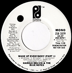 Wake Up Everybody (Part 1/Part 11)