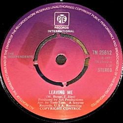 I Love You Yes I Do/Leaving Me