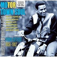 Motor Town Soul- From Detroit 1958-62 (10 Cd Set)