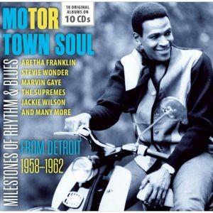 Motor Town Soul- From Detroit 1958-62 (10 Cd Set)