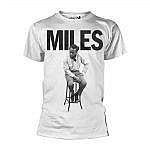 Miles Davis Stool T-Shirt White -L