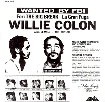 Wanted By The Fbi / The Big Break: La Gran Fuga (White Vinyl, Poster)
