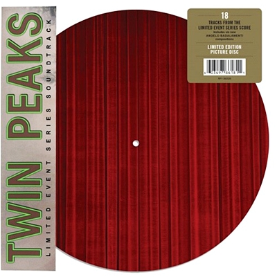 Twin Peaks (Music From The Limited Event Series - Soundtrack)(Double Pic Disc) (RSD 18 Rock and pop )