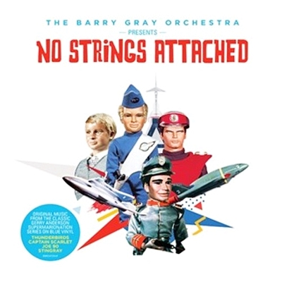 "No Strings Attached - Tv Themes (Blue Vinyl 10"") (RSD 18 Rock and pop )"