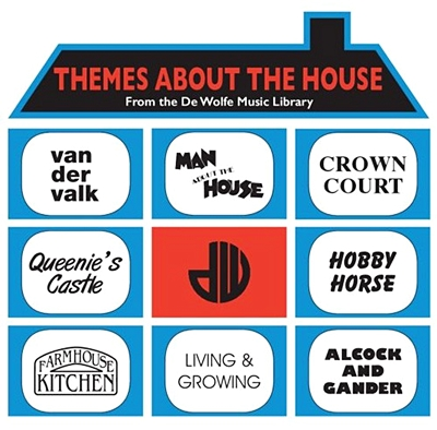 """Themes About The House (From The De Wolfe Music Library 10"""" (RSD 18 Soundtracks )"""
