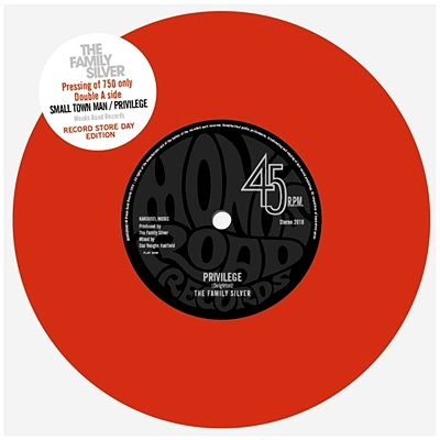 Small Town Man / Privilege - Red Vinyl