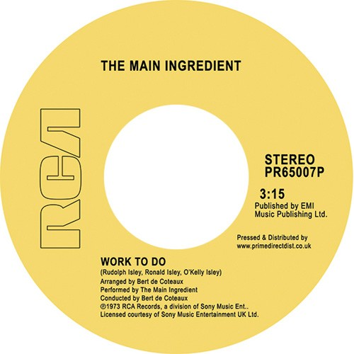 Work To Do / Instant Love (RSD 18 Soul)