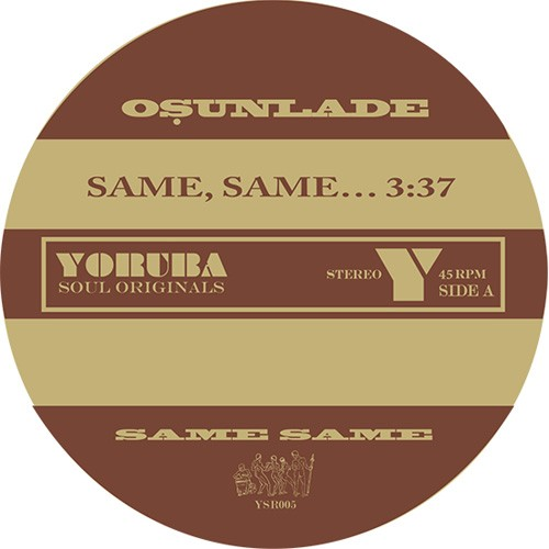 Same, Same… / Music Had Appeal (RSD 18 Soulful house/new beat)