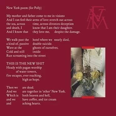 Sky Full Of Song/New York Poem