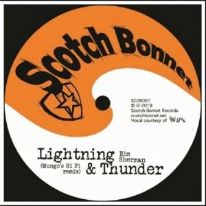 "Lightning & Thunder/Thunderclap Dub 10"""