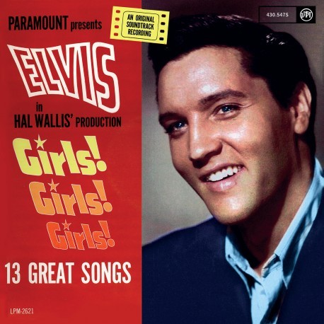 Girls Girls Girls (Red Vinyl)