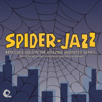 Spider-Jazz – Kpm Cues Used In The Amazing Animated Series (180Gm Striped Coloured Vinyl)