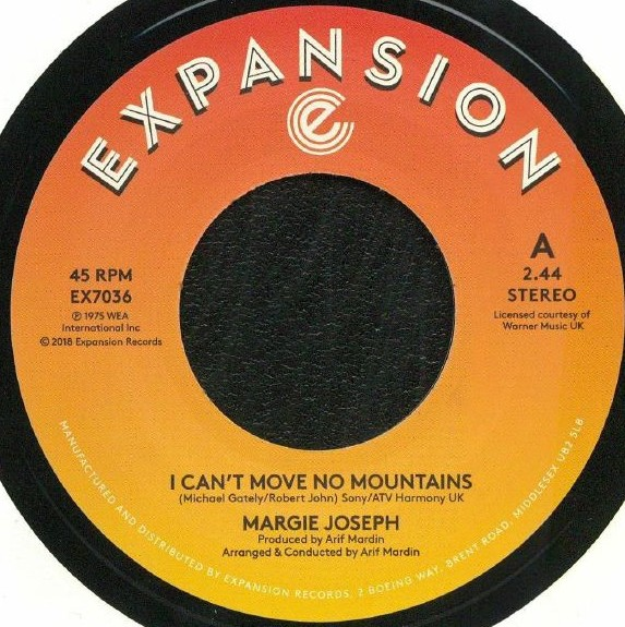 I Can'T Move No Mountains/Come On Back To Me Lover
