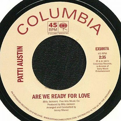 Are We Ready For Love/Didn'T Say A Word