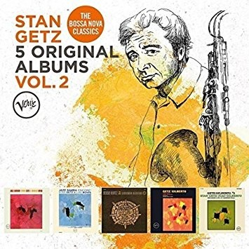 Stan Getz - 5 Original Albums, Vol. 2