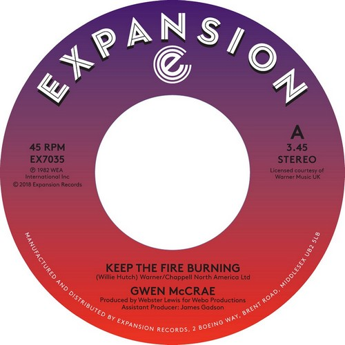 Keep The Fire Burning/Funky Sensation