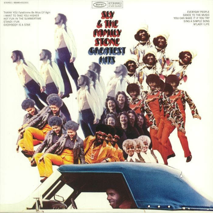Sly And The Family Stone - Greatest Hits (1970)