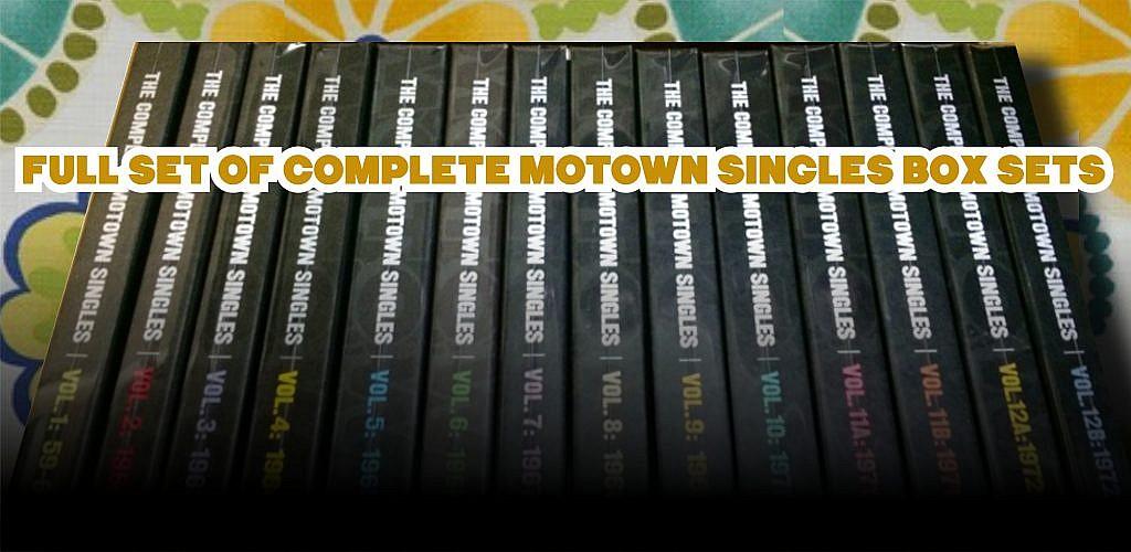 Full Set Of Complete Motown Singles Box Sets Soul
