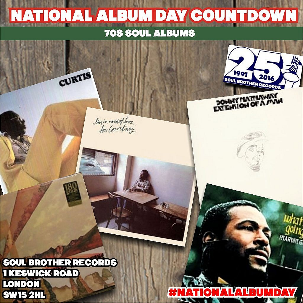national album day countdown 70s soul albums soul brother records