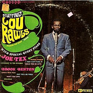 Starring Lou Rawls With Joe Tex And Brook Benton