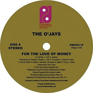 For The Love Of Money / Darlin' Darlin' Baby (Sweet, Tender, Love)