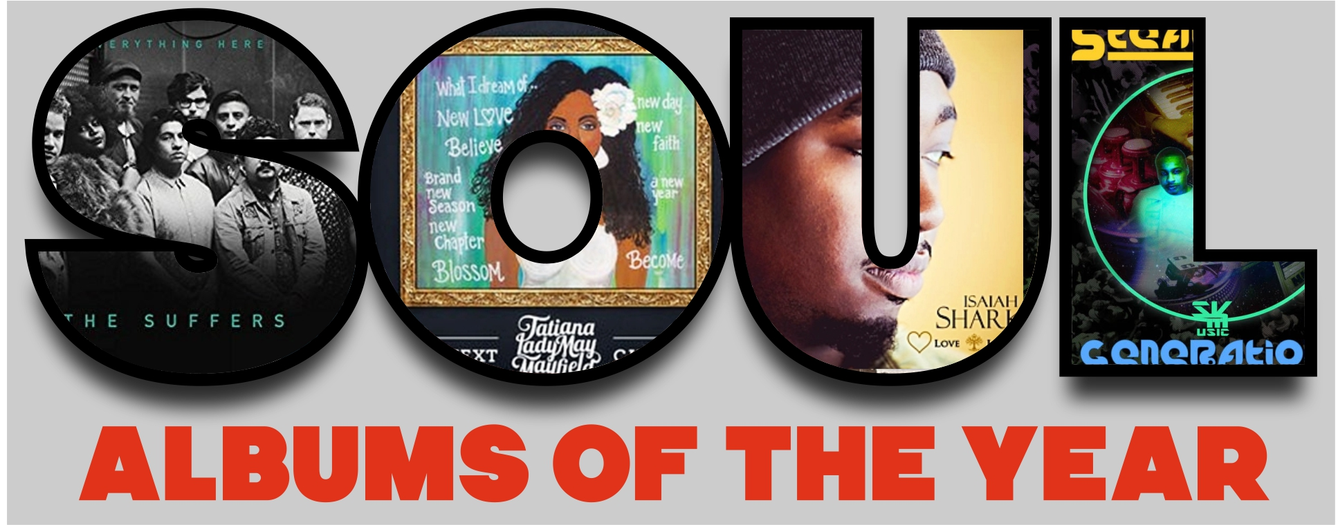 Albums and singles of the year 2018 - Soul Brother Records