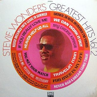 Stevie Wonder : Greatest Hits Vol 2