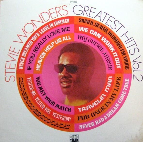 Stevie Wonder Stevie Wonder Greatest Hits Vol 2 Lp