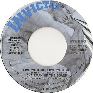 Life And Death / Live With Me Love With Me
