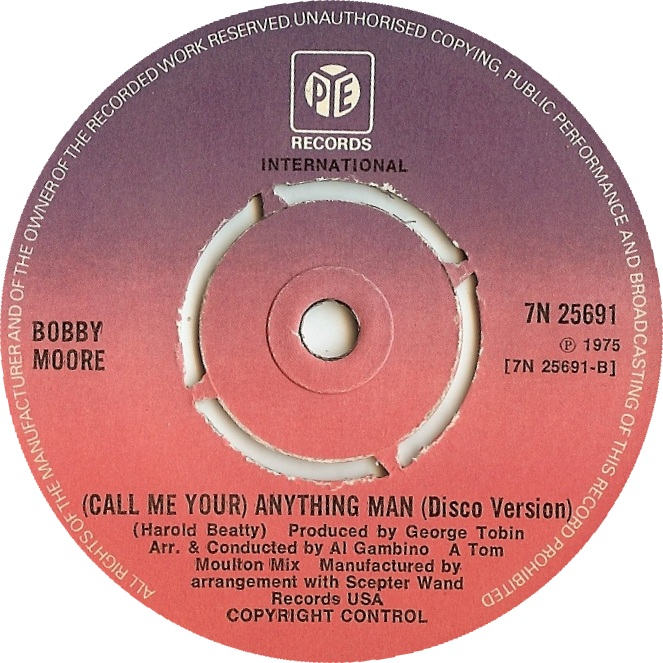 Call Me Your Anything Man/(Disco Version)