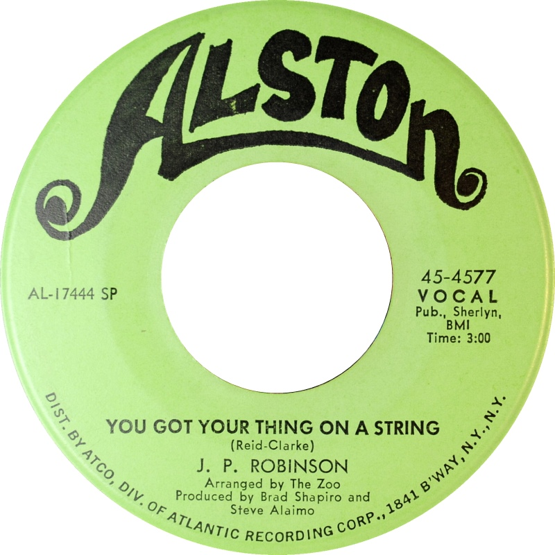 Love Is Not A Stranger/You Got Your Thing On A String