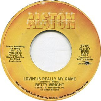 Lovin Is Really My Game/ A Song For You