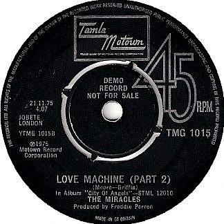 Love Machine(Part 1) /(Part 2)