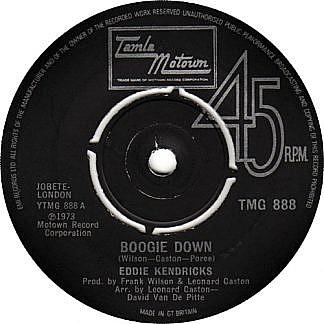 Boogie Down / Eddie's Love