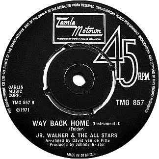 Way Back Home/(Instrumental)