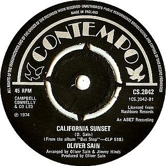 The Double Bump/ California Sunset