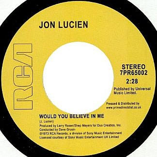 Would You Believe In Me/Kuenda