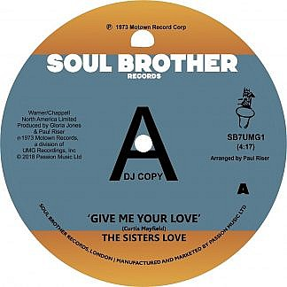 Give Me Your Love/Try It You'll Like It (Promo Copy)