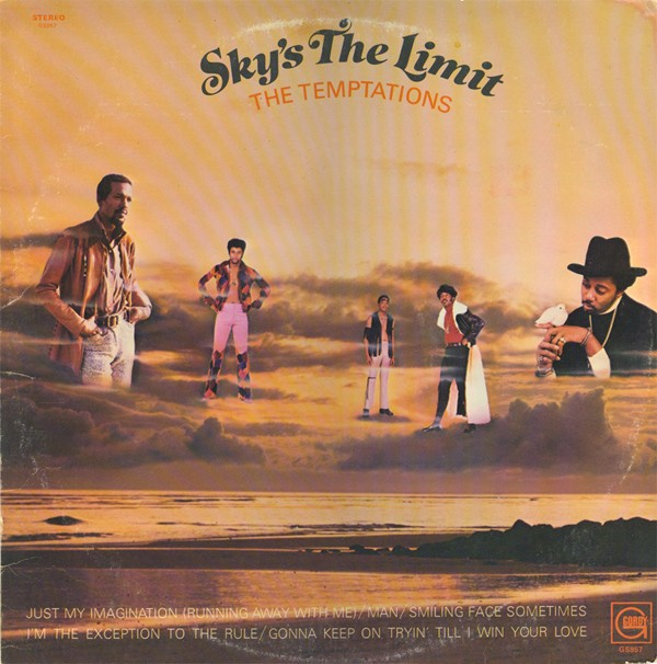 Temptations Sky S The Limit Lp Vinyl Music Tamla Motown