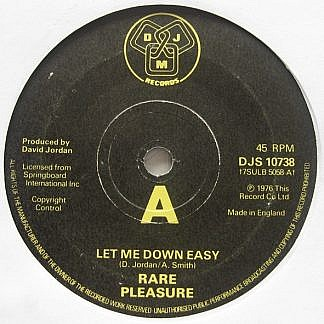Let Me Down Easy / Let Me Down Easy (Long Version)