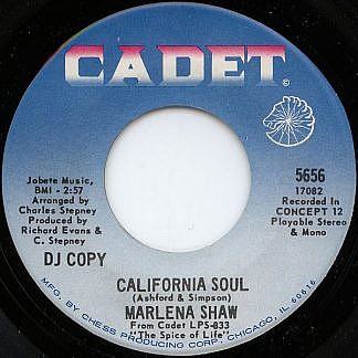 California Soul / Looking Thru The Eyes Of Love